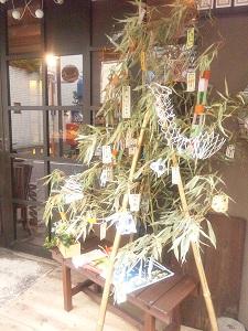 七夕笹飾り