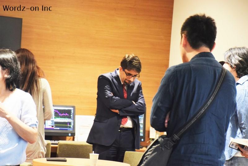 TOCOMスクエア3周年記念イベント 投資家との懇談